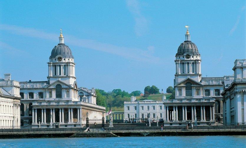 L'Old Royal Naval College, dans le quartier de Greenwich.