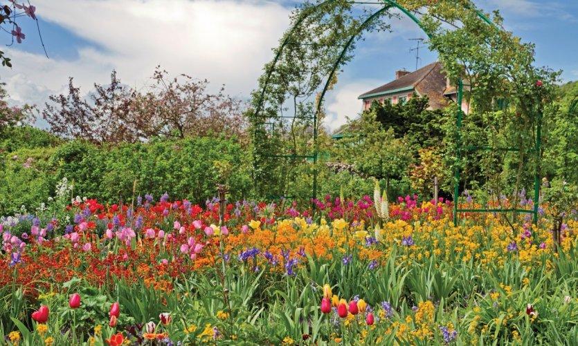 Le jardin de Claude Monnet à Giverny.