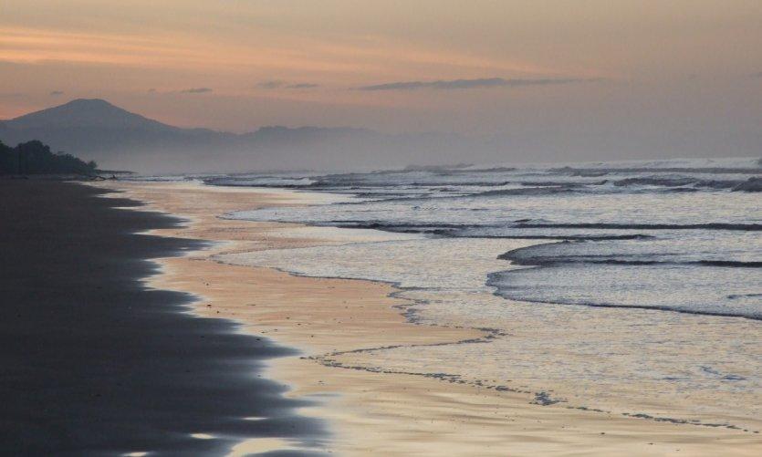 Playa Las Lajas.