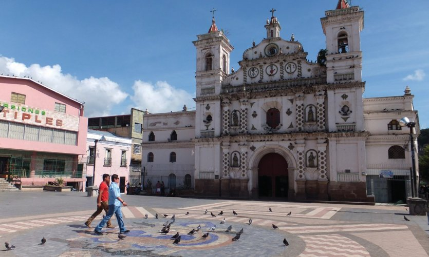 <p>Santa Maria de Los Dolores Church is one of the oldest in Honduras.</p>