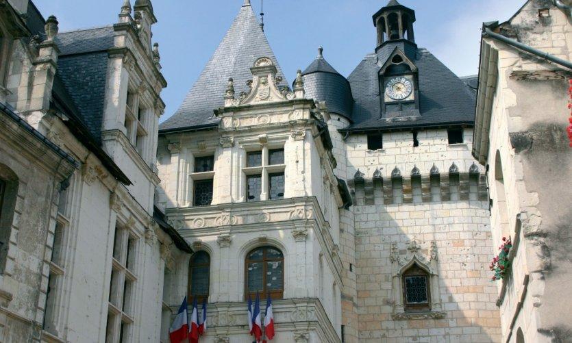 L'Hôtel de Ville et la porte Picois - Loches
