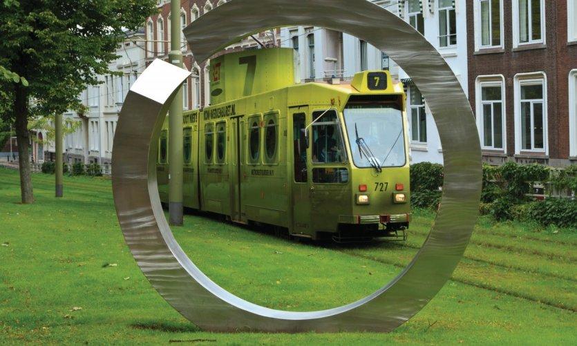 Tranvía en Eendrachtsweg.