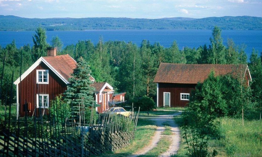 Région de Rättvik.