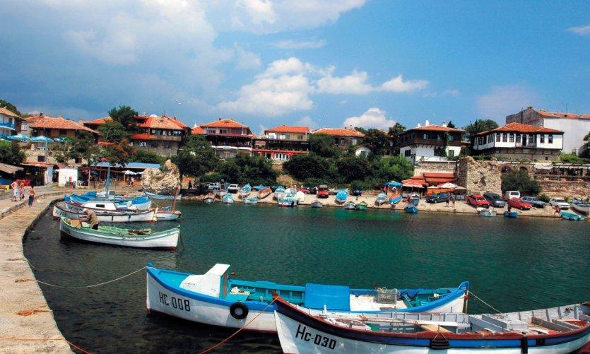 Port de pêche de Nessebar.