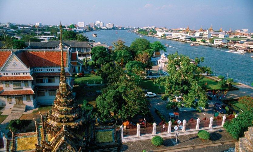 Ville de Bangkok.