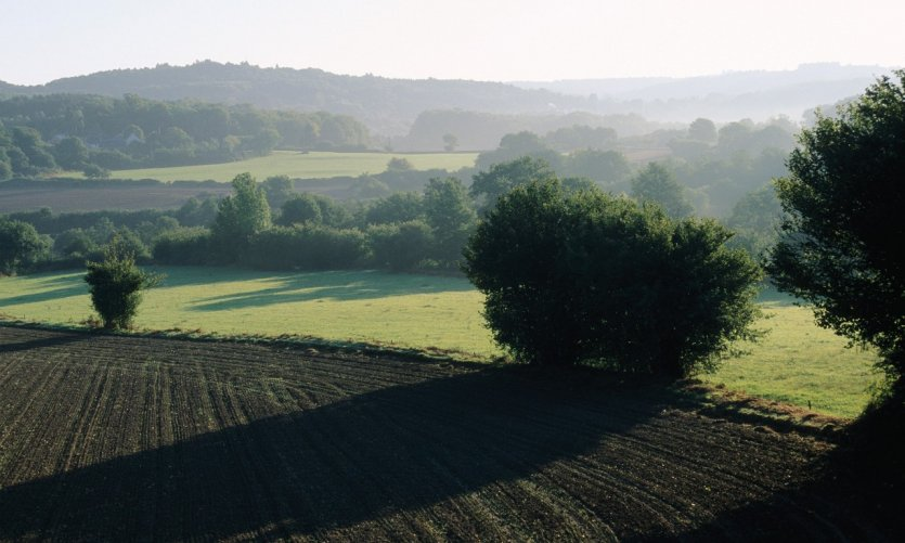 Paysage de la Haute Marche aux environs de Guéret