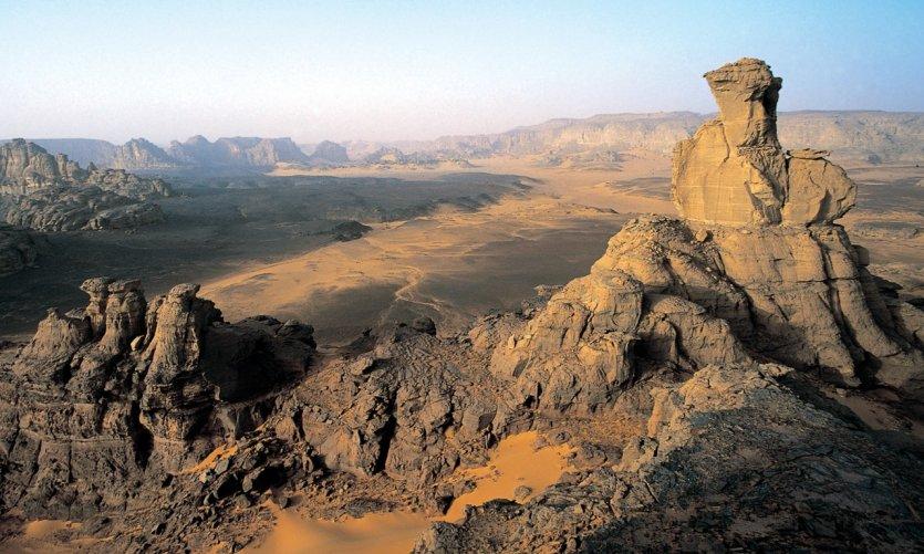 Panorama depuis le sommet d'Oine Za Watan.