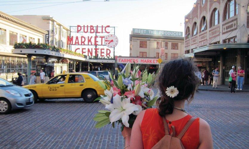 <p>Mercado de Pike Place.</p>