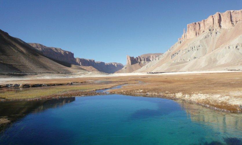 Les étendues bleues turquoise des lacs de Band-e-Amir.