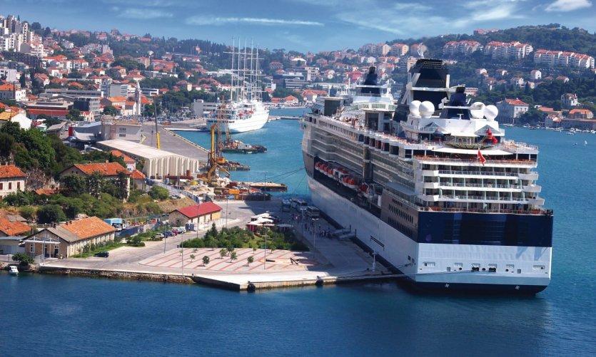 Gruž, le port de Dubrovnik.