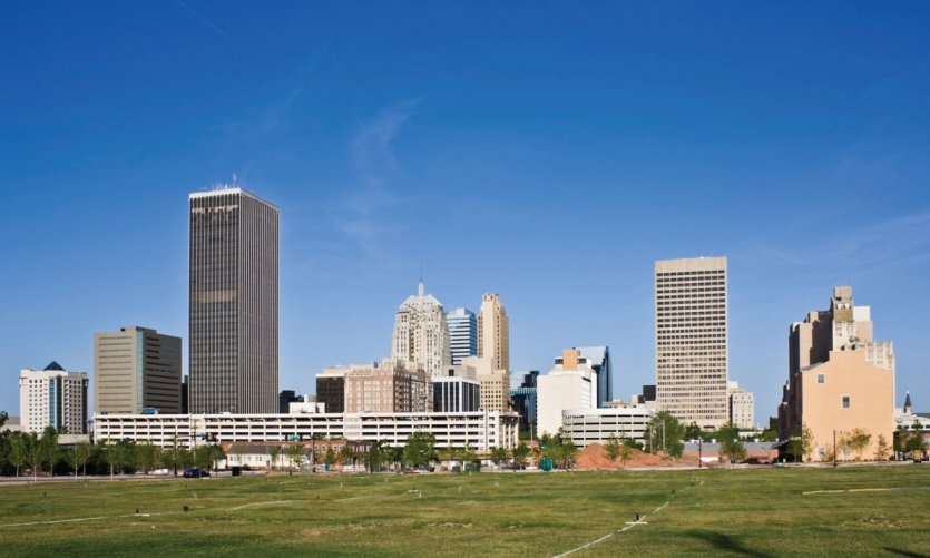 Skyline d'Oklahoma City.
