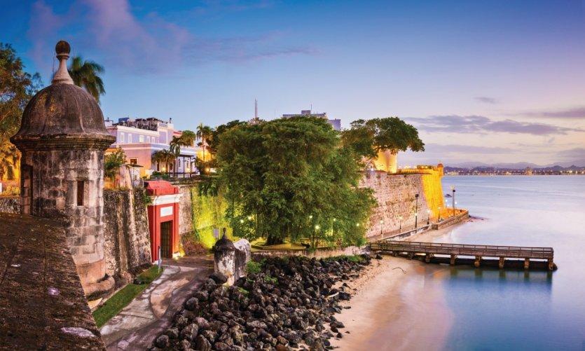 Paseo de la Princesa, dans le vieux San Juan.