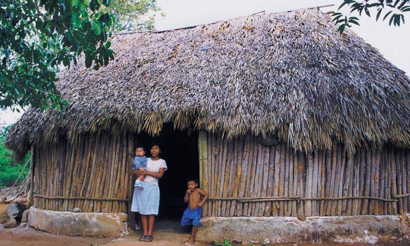 Village écologique d'Ek Balam.