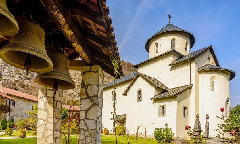 <p>Monastère de Morača.</p>