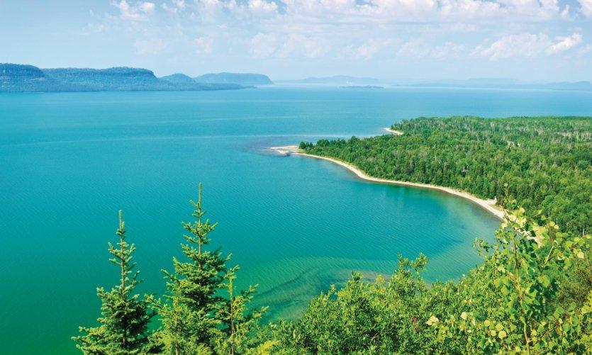 Le lac Supérieur dans toute sa splendeur.