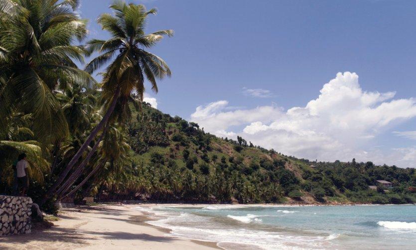 Plage de Jacmel.