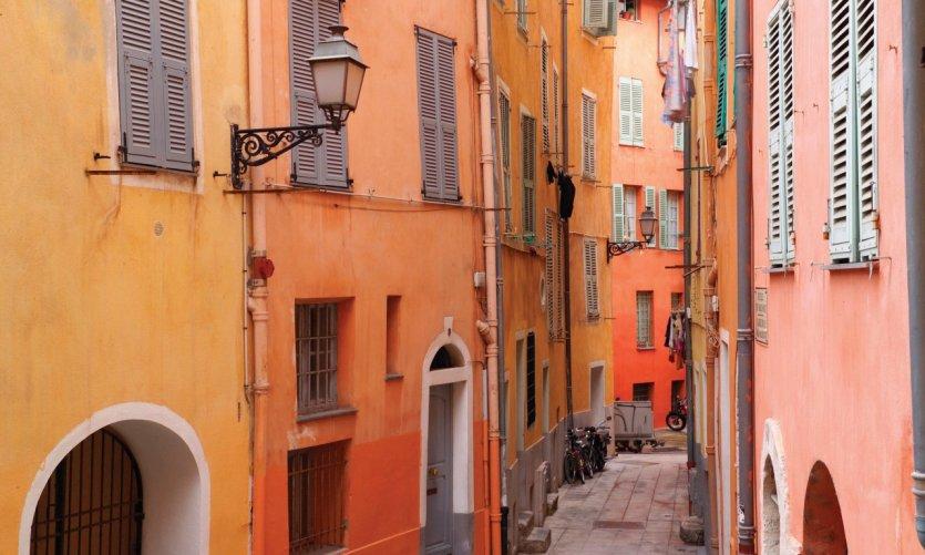 Dans le vieux Nice.