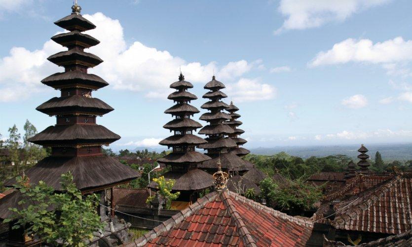 Temple hindouiste de Pura Besakih.