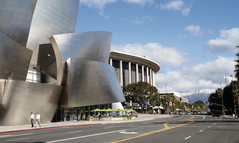 Le Walt Disney Concert Hall.