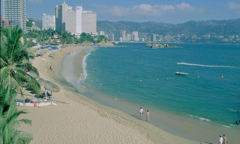 La célèbre station balnéaire d'Acapulco.