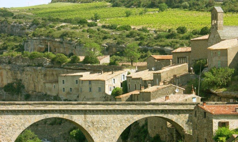 Le village de Minerve.