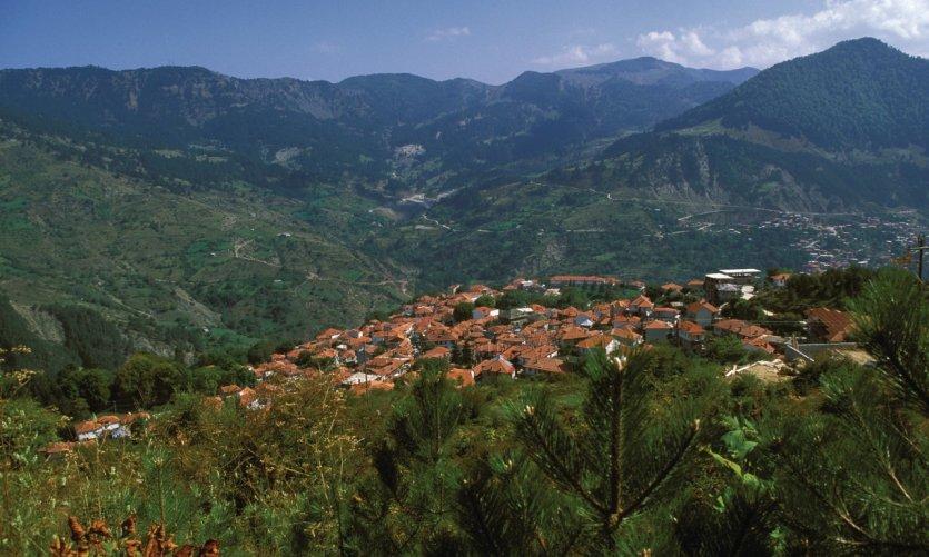 Village de Metsovo.
