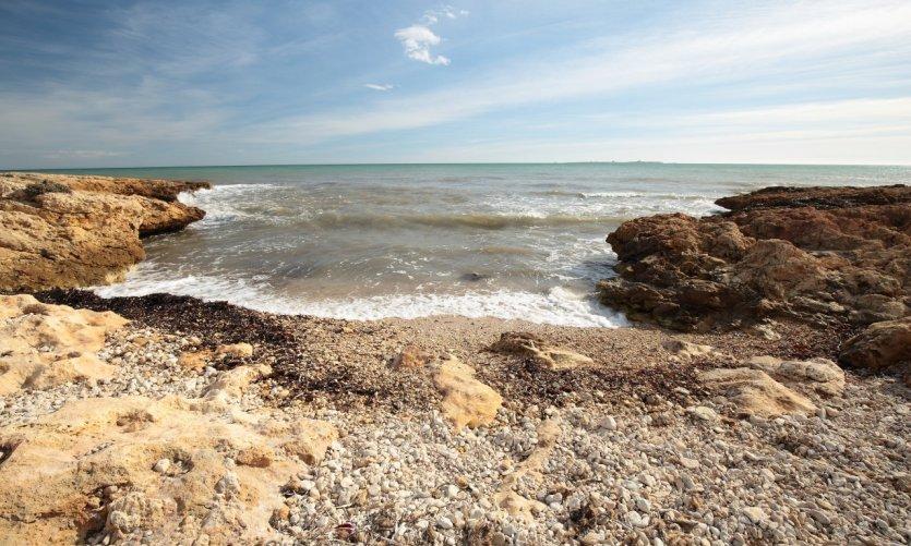 Une des nombreuses plages de Santa Pola.