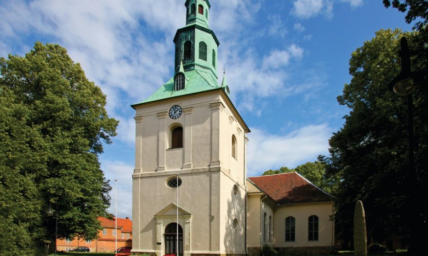 <p>Iglesia de Fredrikstad.</p>