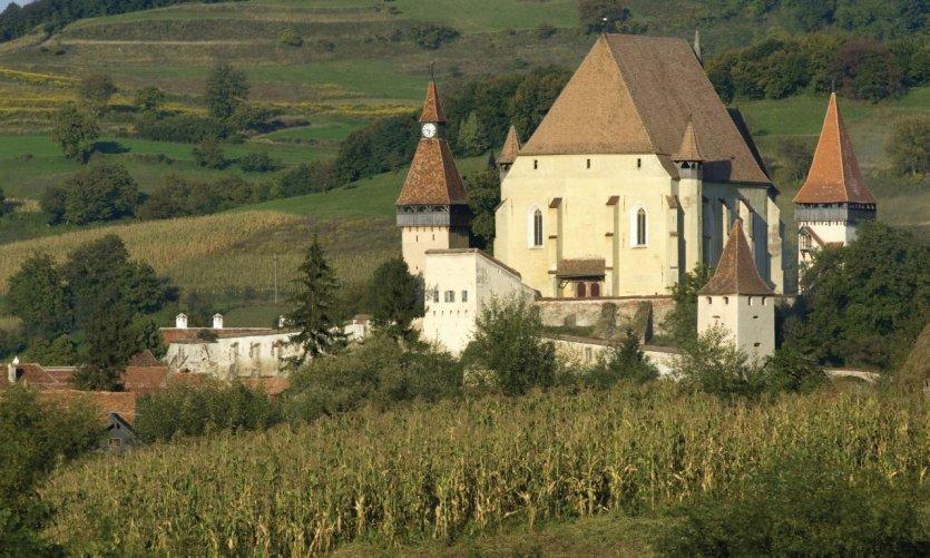 Église de la citadelle de Biertan.