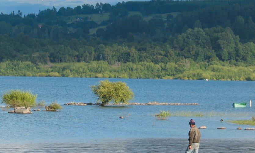 Vue du lac Villarrica