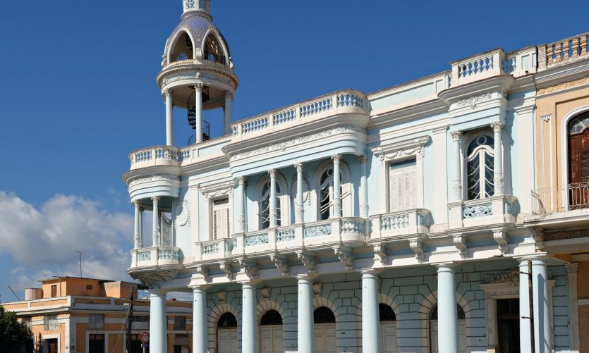 Palacio Ferrer à Cienfuegos.