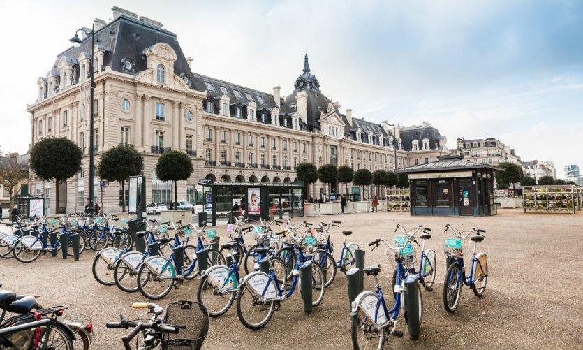 Rennes, place de la République.