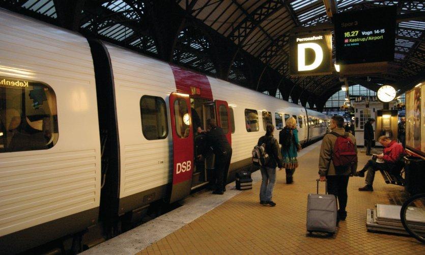 Train de la DSB (compagnie ferroviaire danoise).