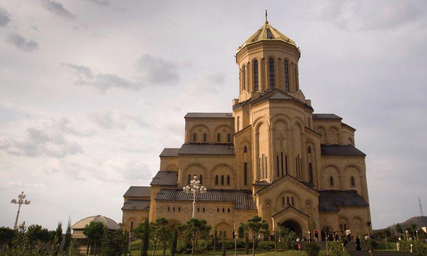 Cathédrale de la Trinité, Tbilissi.