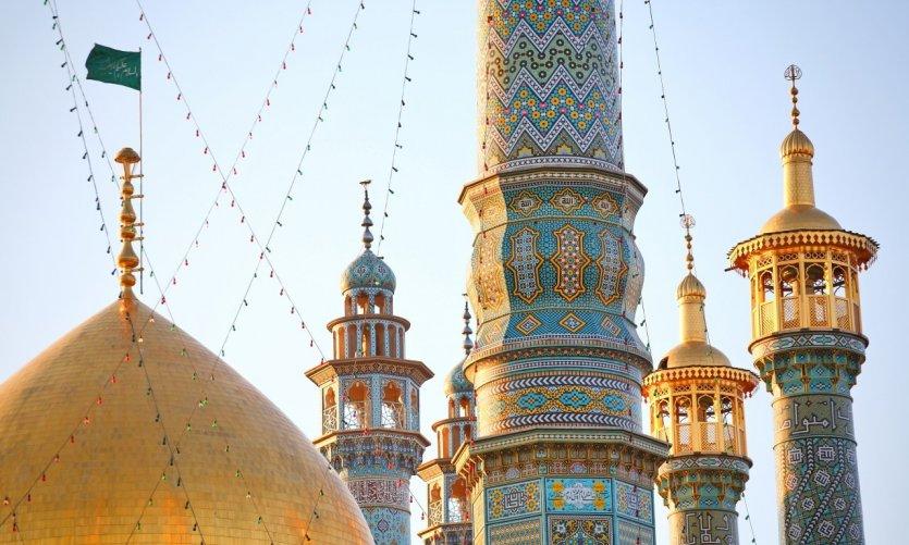 <p>Minarets de Qom.</p>