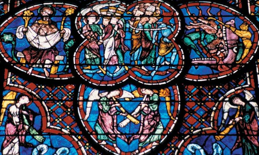 Vitrail de la cathédrale Saint-Etienne