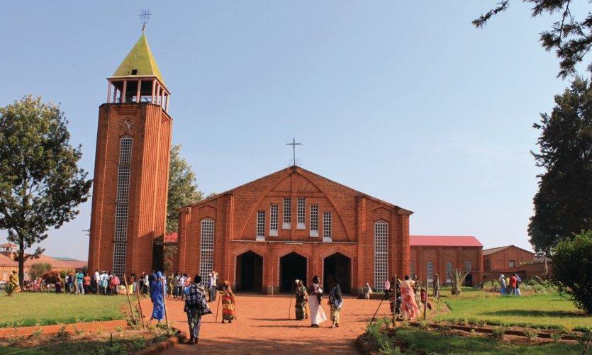 La cathédrale de Ngozi.