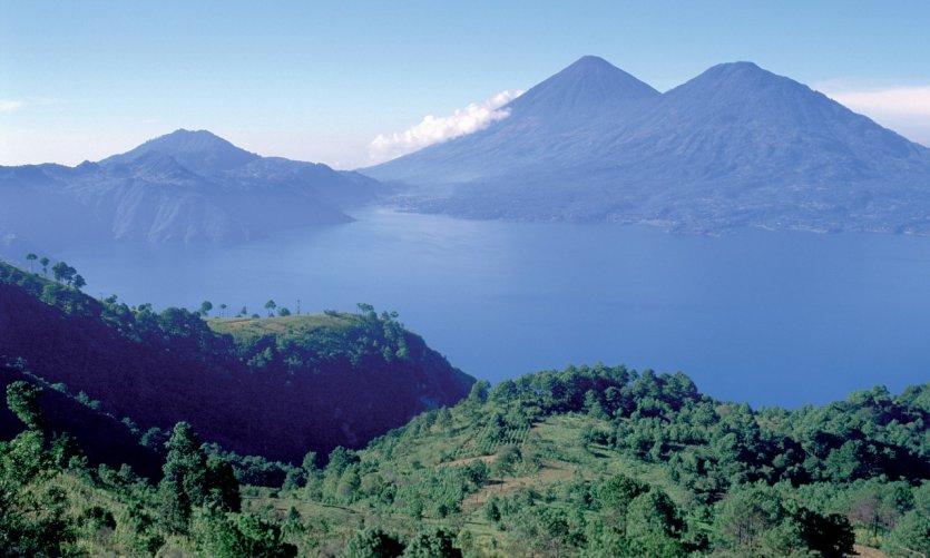Lac Atitlán.