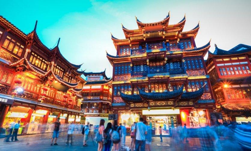 Jardin de Yuyuan, à Shangai.