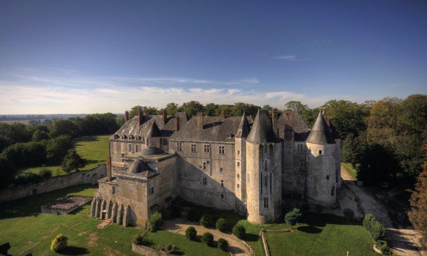 Château de Meung-sur-Loire.