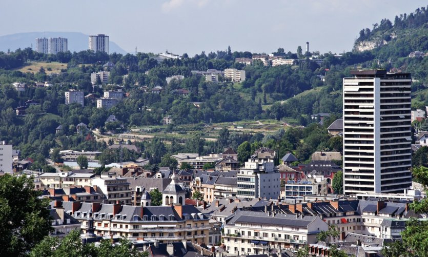Vue de Chambéry