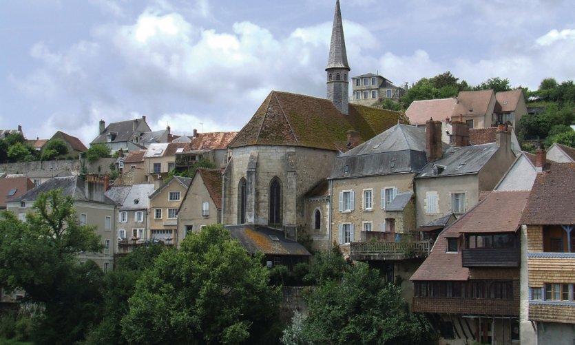 Les rives de la Creuse à Argenton.
