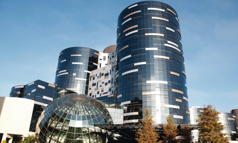 Immeubles modernes.