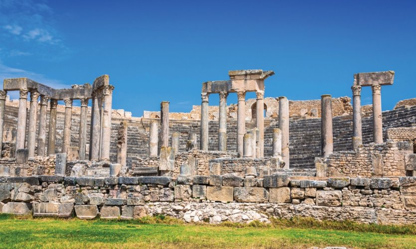 <p>Archaeological site of Dougga.</p>