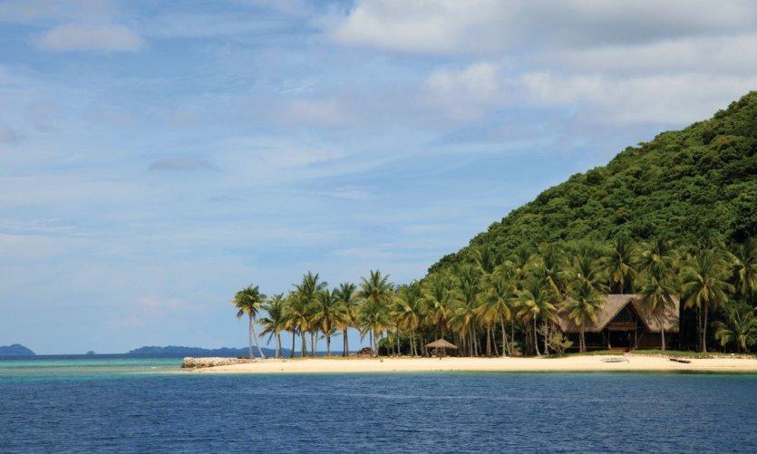 Plage de l'archipel des Calamianes près de Busuanga.