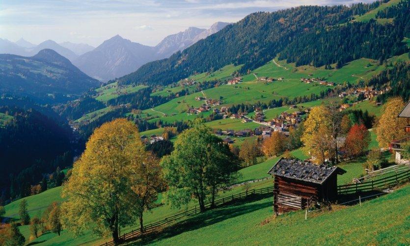 <p>Pueblo de Alpbach.</p>