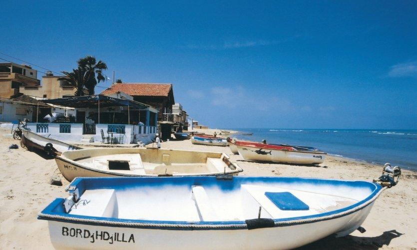 Pequeña ciudad costera de la costa oranesa.
