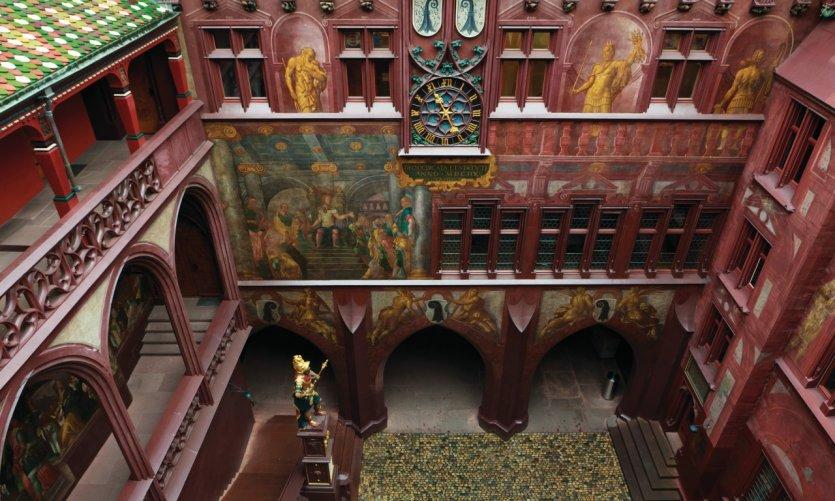 Cour intérieur de l'hôtel de ville.