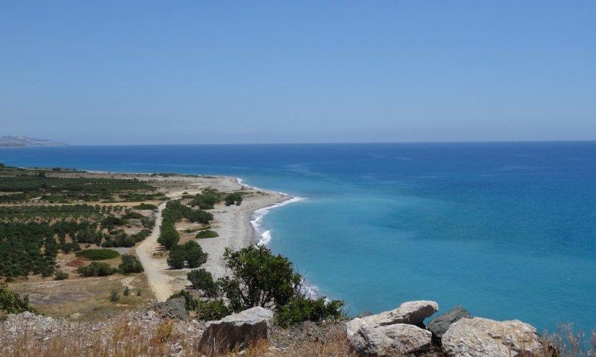 <p>Tsoutsouros, côte sud-ouest.</p>