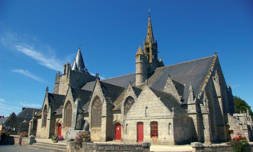 Eglise Sainte-Nonna à Penmarc'h